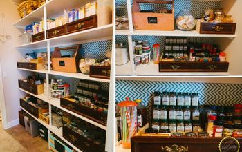 Easy Pantry Make Over