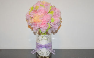 diy mason jar vase, crafts, how to, mason jars, repurposing upcycling