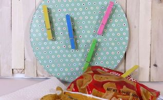 magnetic chip clip holder with dollar store supplies, closet, crafts, organizing, repurposing upcycling