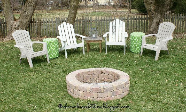 how we built our own fire pit for under 75, concrete masonry, how to, outdoor living