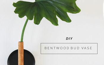 DIY Copper + Bentwood Bud Vase