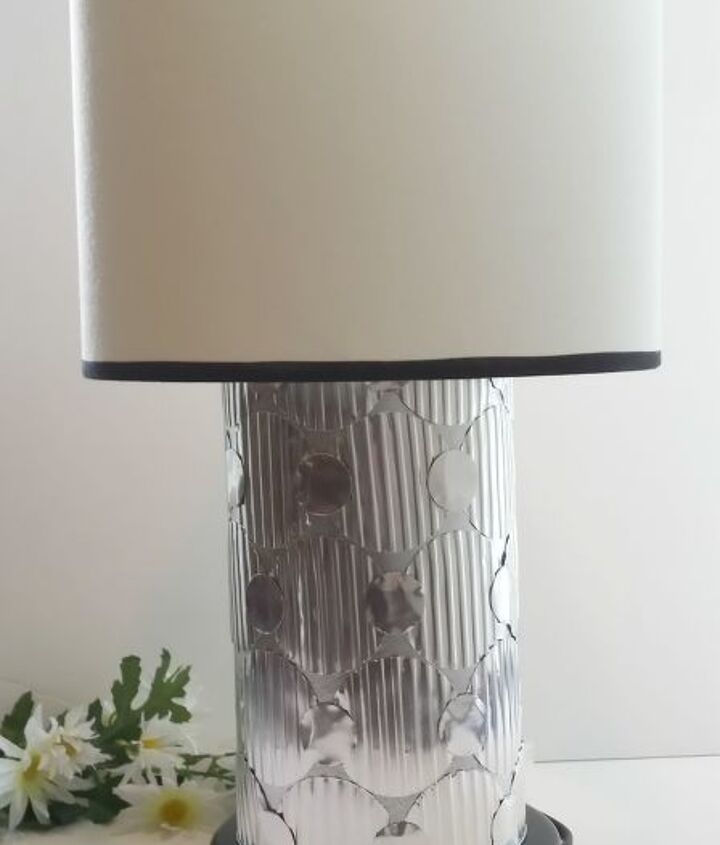 diy lamp makeover changing the shape of this basic lamp 4 ways, diy, how to, lighting, repurposing upcycling