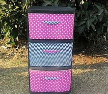 update storage drawers with duct tape, crafts, repurposing upcycling, storage ideas