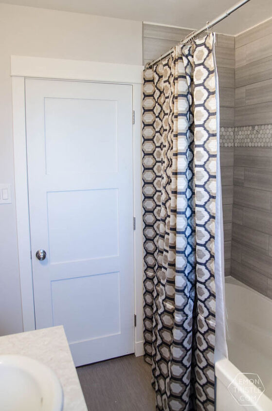 DIY Extra Long Shower Curtain | Hometalk