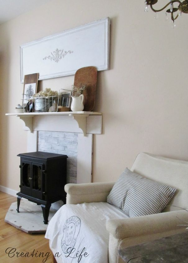 Well known DIY Faux Fireplace Mantel Update | Hometalk ZL64