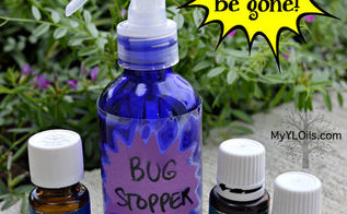 diy all natural non toxic bug spray using essential oils, go green, how to, outdoor living, pest control