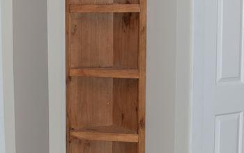 DIY Built in Shelf {the Easy Way} Tutorial