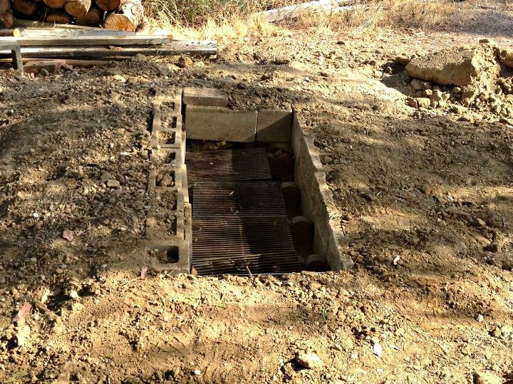 how to make an underground oven dirt oven diy, how to, outdoor living
