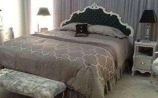 dreamy bedroom, bedroom ideas, chalk paint, painted furniture
