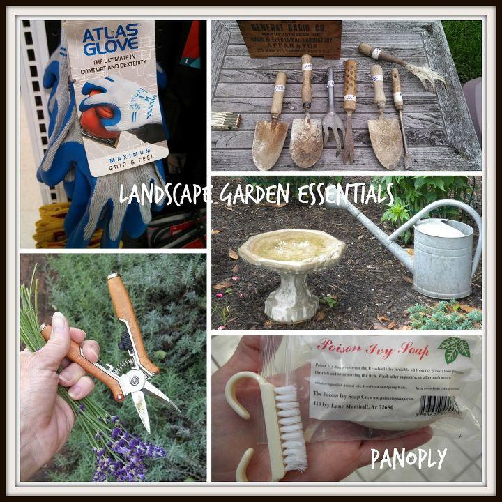 My landscape garden essentials!