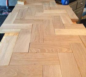 Diy Wood Herringbone Counters, Countertops, Diy, How To, Kitchen Design,  Kitchen