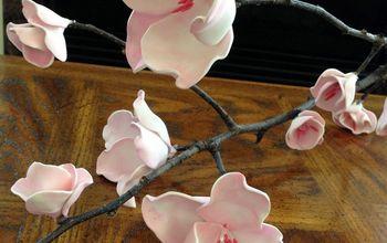 Cherry Blossom Foam Flowers - DIY