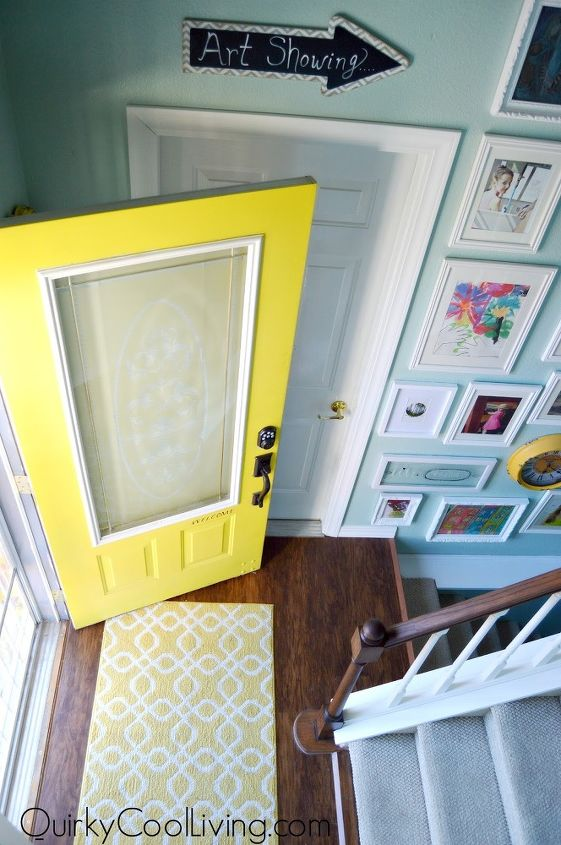 Budget Friendly Foyer Update | Hometalk