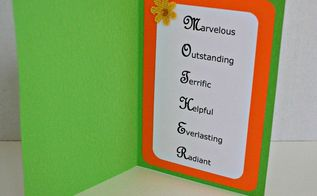 mother s day cards with acrostic poems, crafts, how to, seasonal holiday decor
