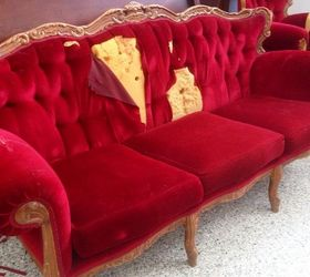 Superbe French Provincial Couch Miss Mustard Seed S Milk Paint, Painted Furniture,  Repurposing Upcycling,