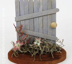 stand alone fairy doors container gardening crafts gardening repurposing upcycling & Stand Alone Fairy Doors | Hometalk