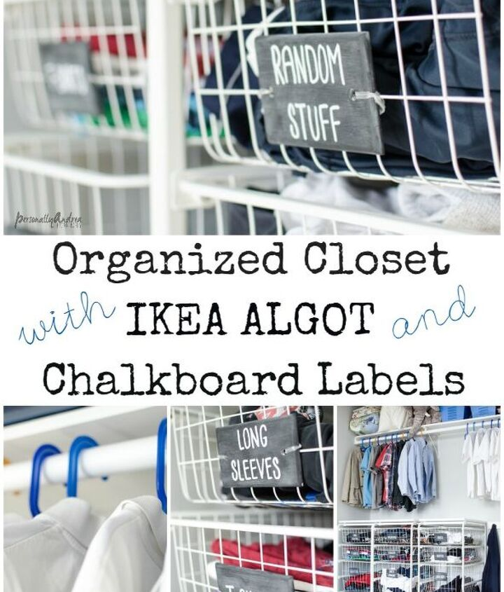 organized kid s closet with ikea laundry system and chalkboard labels, chalkboard paint, closet, organizing, repurposing upcycling