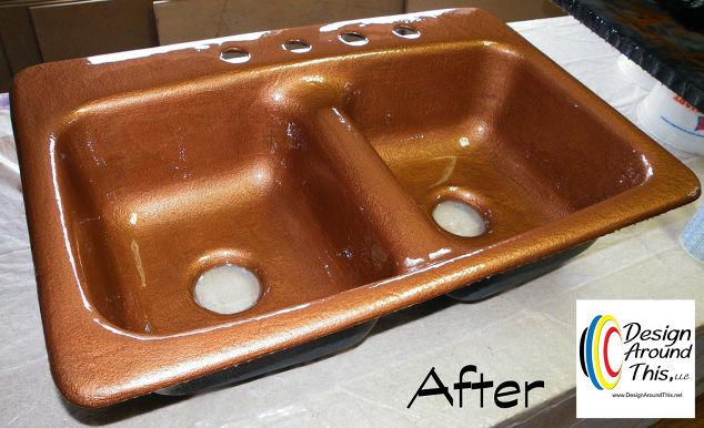 Cast iron sink restoration project hometalk cast iron sink restoration project kitchen design painting repurposing upcycling workwithnaturefo