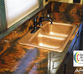 Cast Iron Sink Restoration Project, Kitchen Design, Painting, Repurposing  Upcycling
