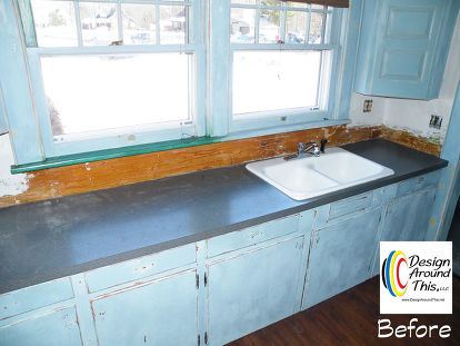 Cast Iron Sink Restoration Project Kitchen Design Painting Repurposing Upcycling