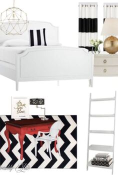guest room inspiration, bedroom ideas, home decor
