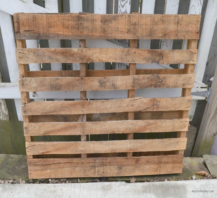 wall organizer made from pallets, crafts, organizing, pallet, repurposing upcycling