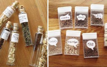 Seed Storage Ideas