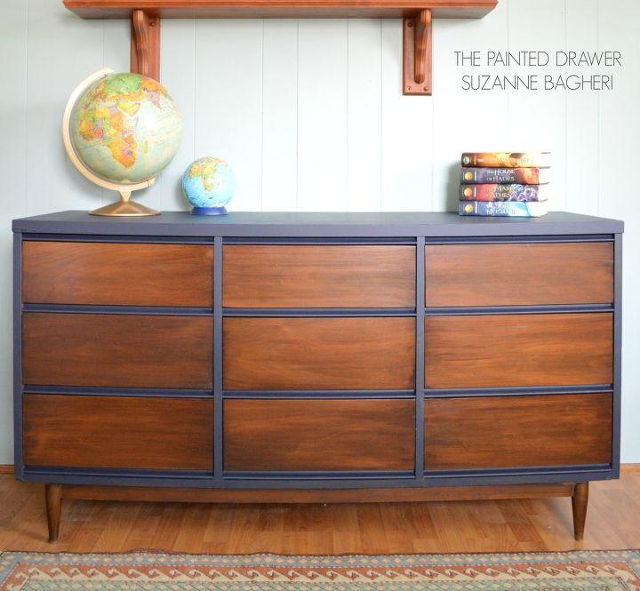 Preferred Mid-Century Modern Dresser Makeover | Hometalk GQ32