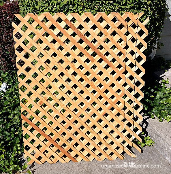 How to Make an Easy Patio Privacy Screen {Step-by-Step Tutorial ...
