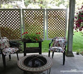 How To Make An Easy Patio Privacy Screen Step By Step Tutorial, Outdoor  Living, ...