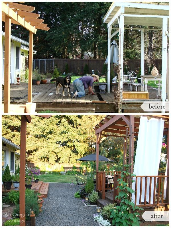 Diy Backyard Makeover Before And After Hometalk