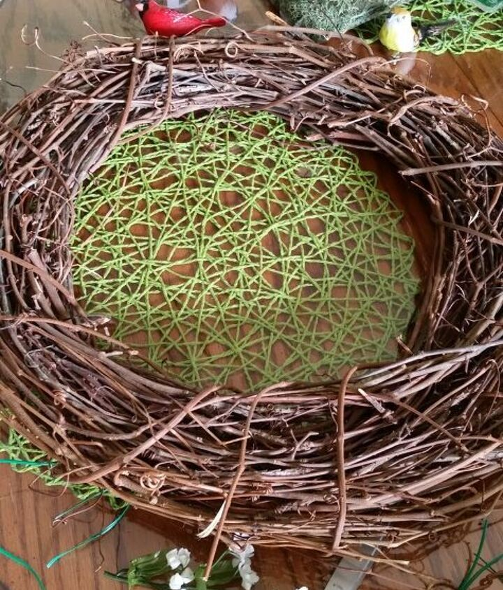 clay pot bird wreath, crafts, how to, repurposing upcycling, wreaths