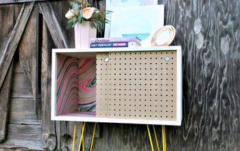 Pegboard Nightstands