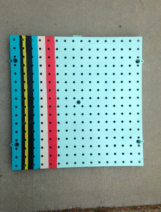 summer station pegboard make your life easy this summer, crafts, how to, organizing, repurposing upcycling
