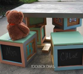 Build It And They Will Play Kid S Play Table, Chalkboard Paint, Diy,