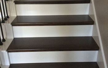 finished our stairs very pleased with it, diy, hardwood floors, stairs