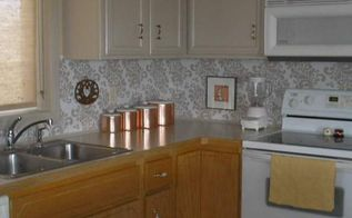 a beautiful backsplash for 10 and a little elbow grease, diy, how to, kitchen backsplash, kitchen design