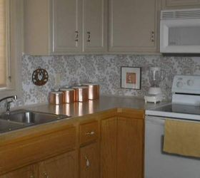 A Beautiful Backsplash For 10 And A Little Elbow Grease, Diy, How To,