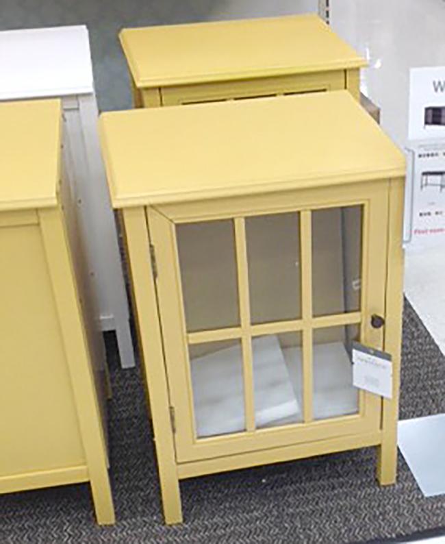 Target Inspired Old Window Cabinet | Hometalk