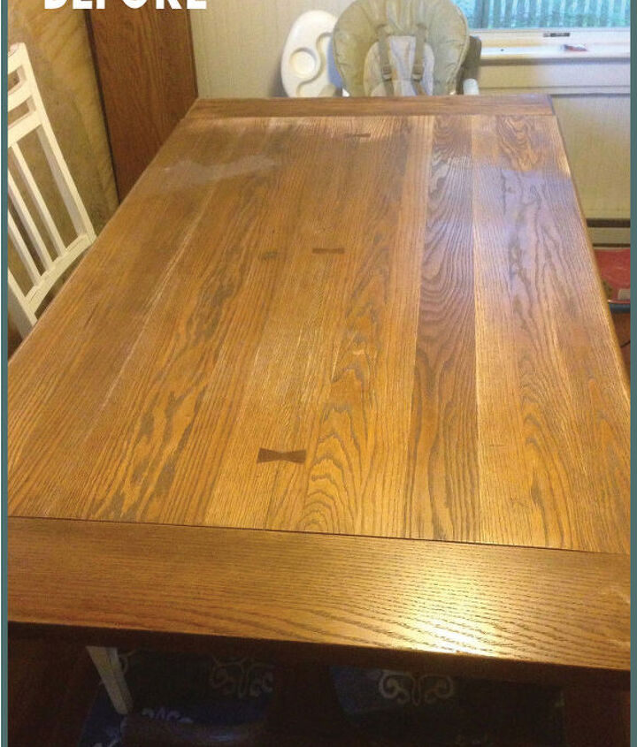 banquette table gets a refreshing new look, how to, kitchen design, painted furniture