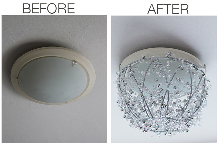 diy chandelier from a hanging plant basket, crafts, how to, lighting, repurposing upcycling