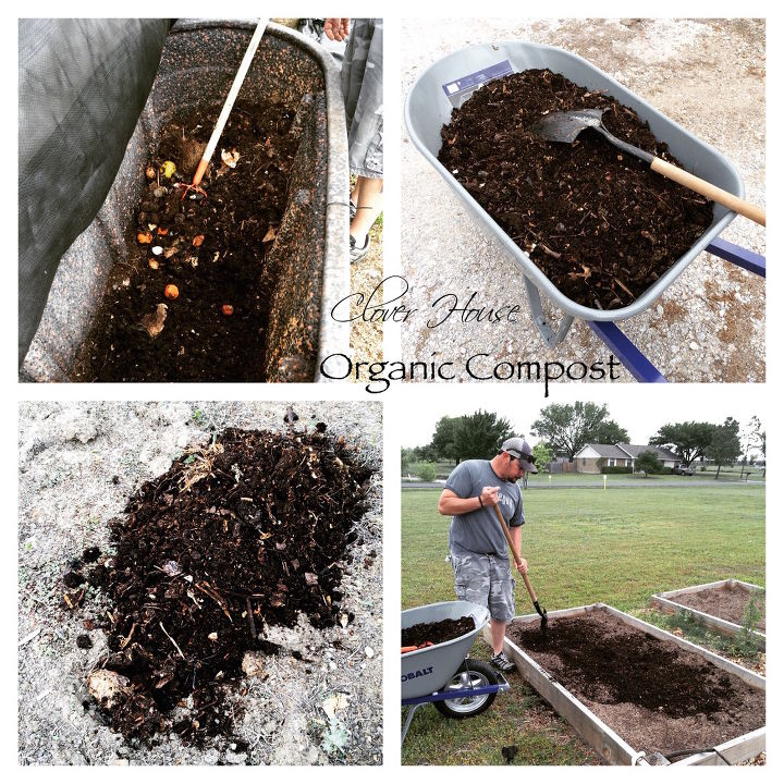 making your own organic compost, composting, gardening, go green, homesteading, how to, raised garden beds