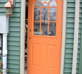 thrifty transformation how to paint a door to look like wood doors how to & Thrifty Transformation: How to Paint a Door to Look Like Wood ... Pezcame.Com