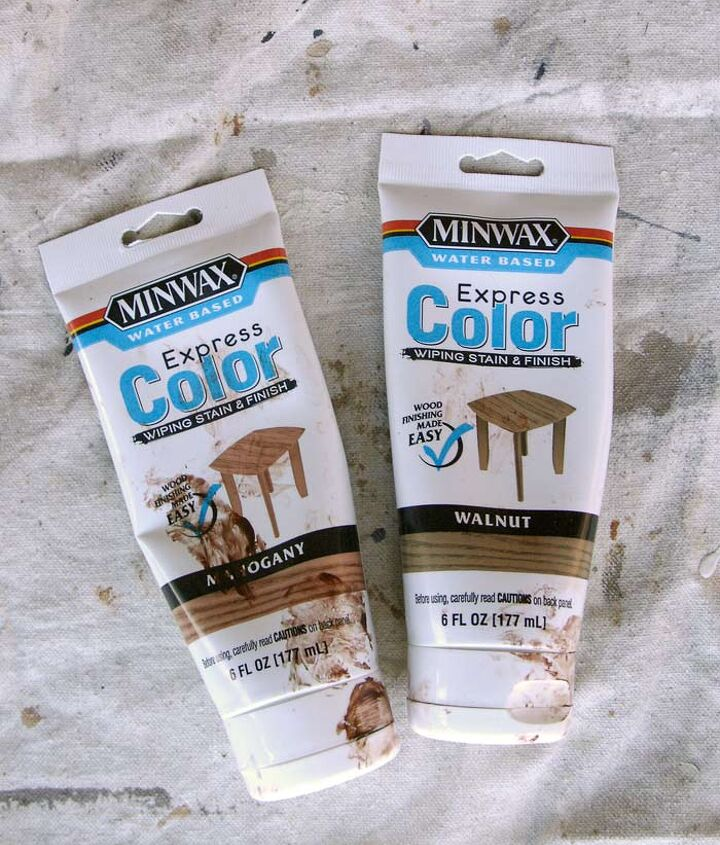 thrifty transformation how to paint a door to look like wood, doors, how to, painting
