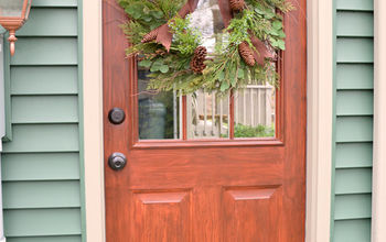Thrifty Transformation: How to Paint a Door to Look Like Wood