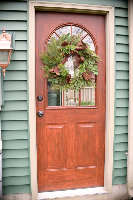 Thrifty Transformation: How to Paint a Door to Look Like Wood   Hometalk
