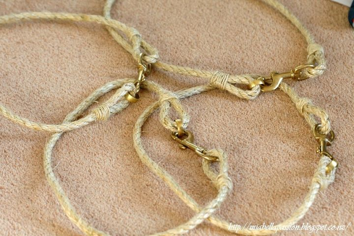 Diy Rope And Brass Curtain Tie Backs Hometalk