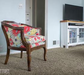 Reupholstered Barrel Chair Hometalk & Diy Reupholster Cane Back Chair - DIY Campbellandkellarteam