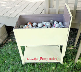 File Cabinet Turned Beverage Caddy, Outdoor Furniture, Outdoor Living,  Painted Furniture, Repurposing