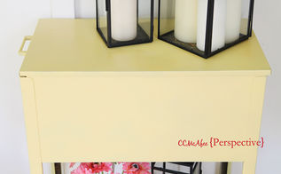 file cabinet turned beverage caddy, outdoor furniture, outdoor living, painted furniture, repurposing upcycling
